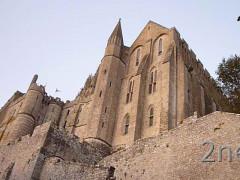 Mont Saint Michel; Ostseite